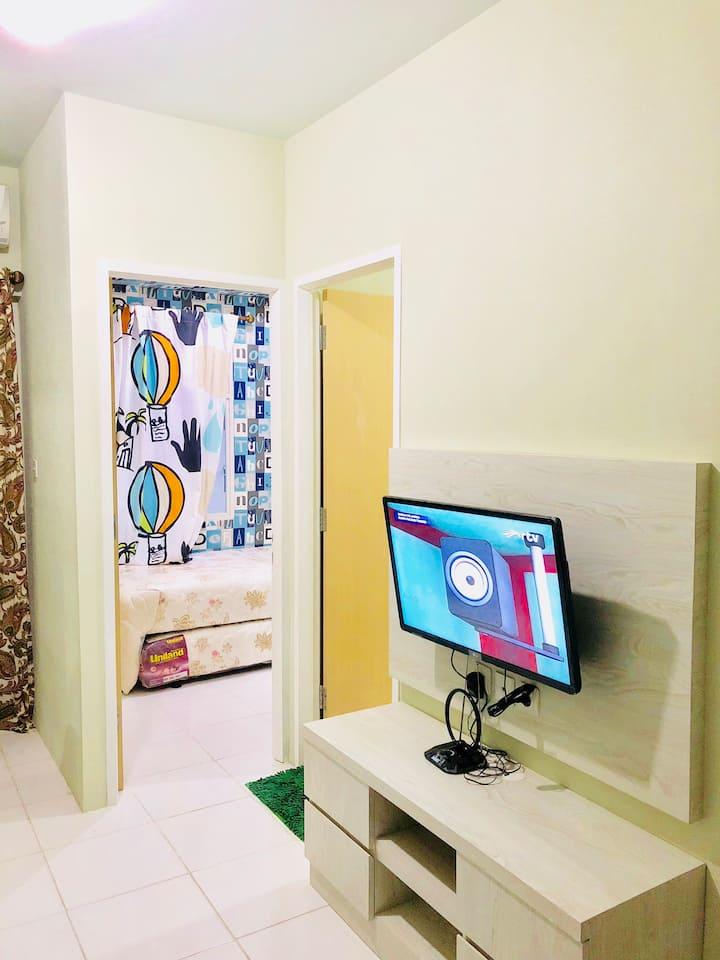 Apartemen Ledisya 2 BR Kota Ayodhya Tangerang