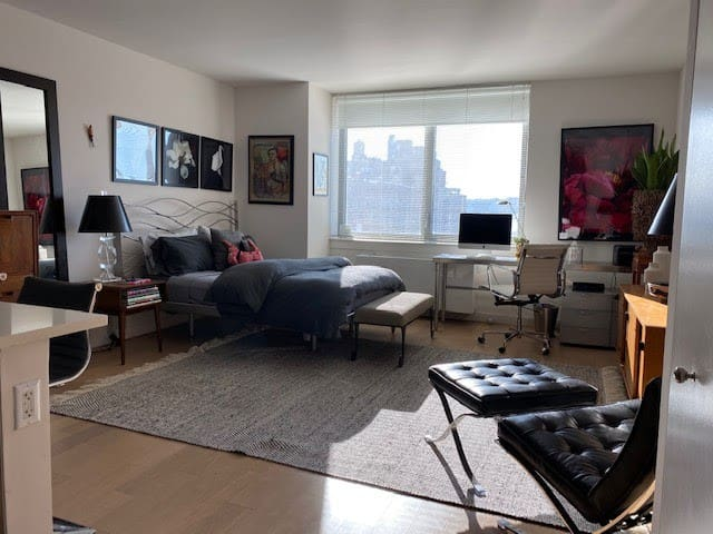Modern furnished studio for July and  August only.
