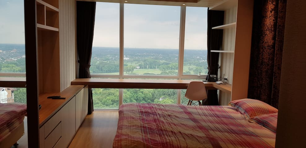 Apartemen U residence studio istimewa golf view