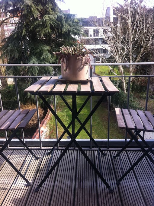 Magic terrace to have your morning coffee and to listen to the birds!
