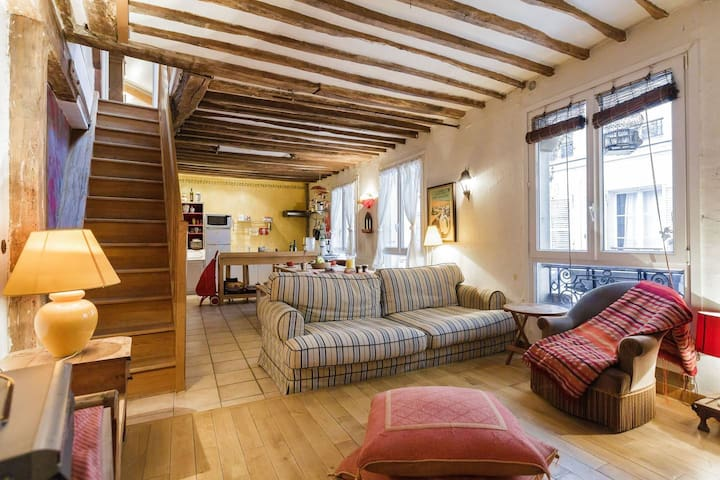 Your mountain cottage in central Paris