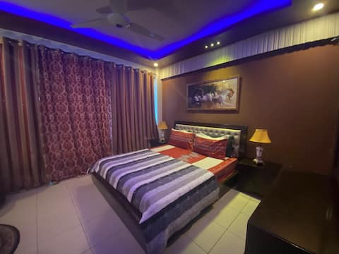 Fullt møblert safe og sikret 1-sengs leilighet