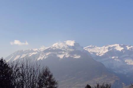 * FANTASTIC Swiss Panorama Chalet * - Leuk