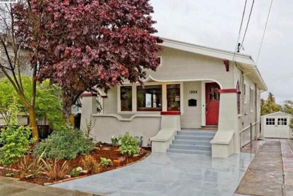 "You'll enjoy the 1,200 square foot house, porch, and large backyard.  This adorable gem is located in Jefferson, recently named the #1 ""Hottest Metro SF Neighborhood"" by Zillow"