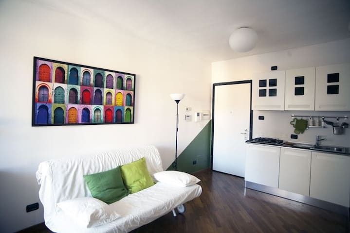 Lovely apartment with terrace in Milan - Milano - Apartmen