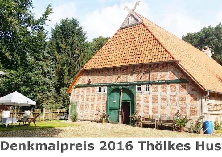 Ferien im denkmalgeschützten Bauernhaus