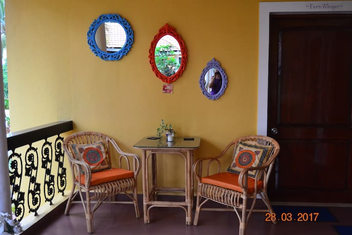 """Fernlodge Studio""""Fern Holly"""" a Homestay, Majorda,"""