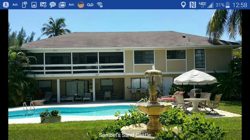 Lux Home, Private Heat Pool, Golf, Beach, Theater - Sanibel - House