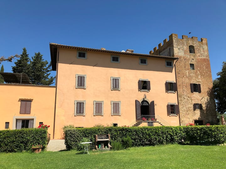 Villa Pozzo Tre - Elegance and Views in Chianti