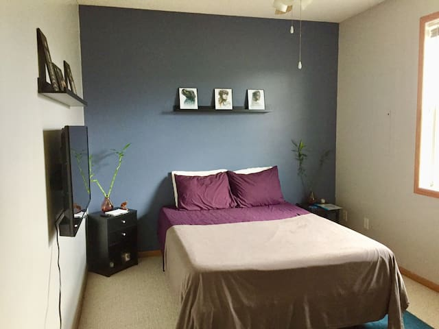 Private 1 bedroom and bath near downtown St Paul.