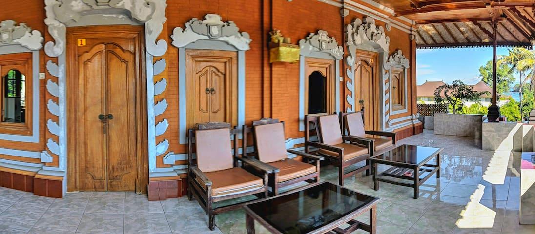 SERANGAN INN II,Superior Room with fan and view