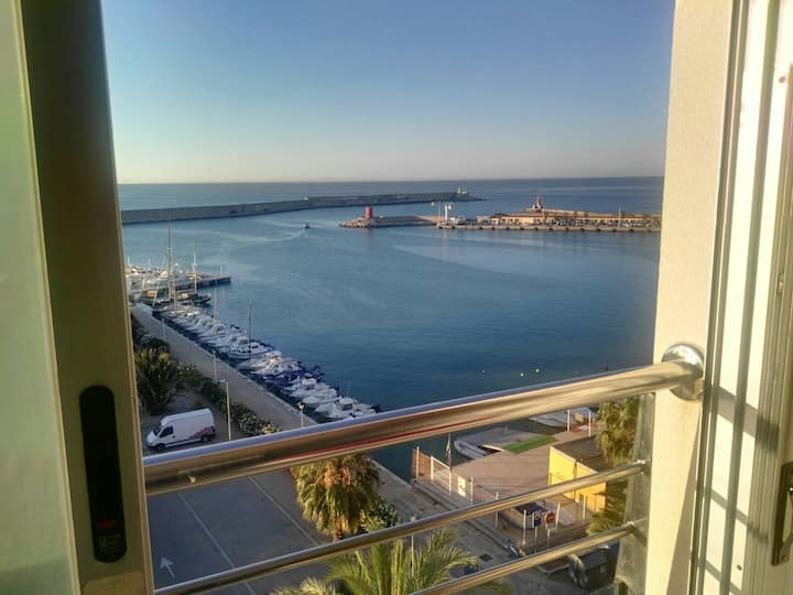 Apartamento en benicarlo con vistas al mar