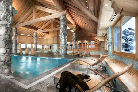 Vallandry T5 duplex with pool in MGM 4* residence - Peisey-Vallandry - Квартира