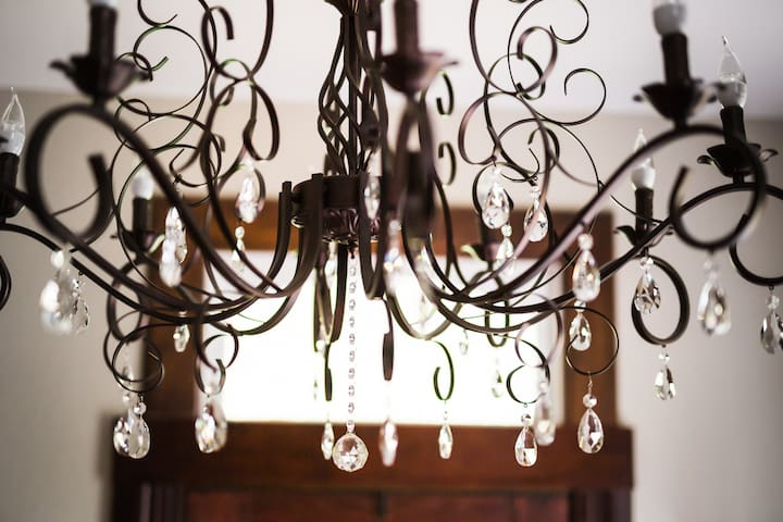 One of 11 Gorgeous Chandeliers throughout Home