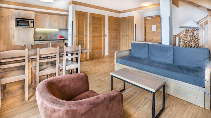Appartement duplex 6p n°403 ski au pied