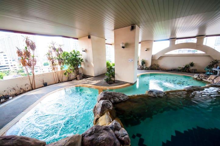 2BR Platinum Mall MBK Siam Paragon Airport BTS PR1 - Bangkok - Apto. en complejo residencial