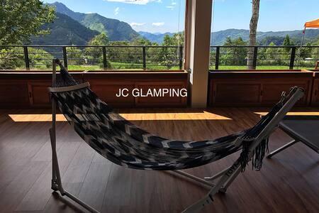 雲翔旅墅JC Glamping (溫馨雙人房)