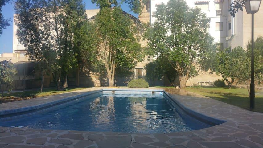 Castillo con piscina en el centro de Liria - Liria - Casa