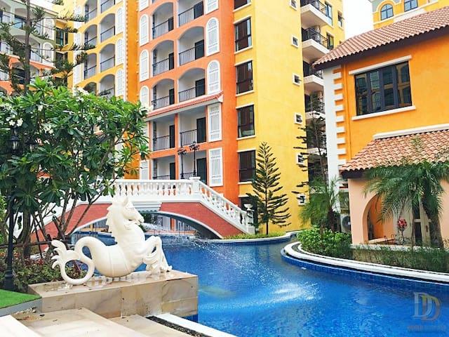 Venetian Condo Pattaya 801 - Na Chom Thian - Apartment