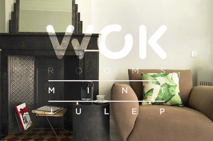 Mint Julep: Large Design Room, perfect location