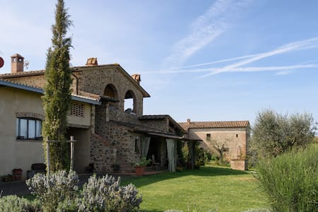 Rondini - Apartment with Tuscany landscape views - San Giovanni d'Asso - 아파트