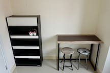 shoes cabinet and work table