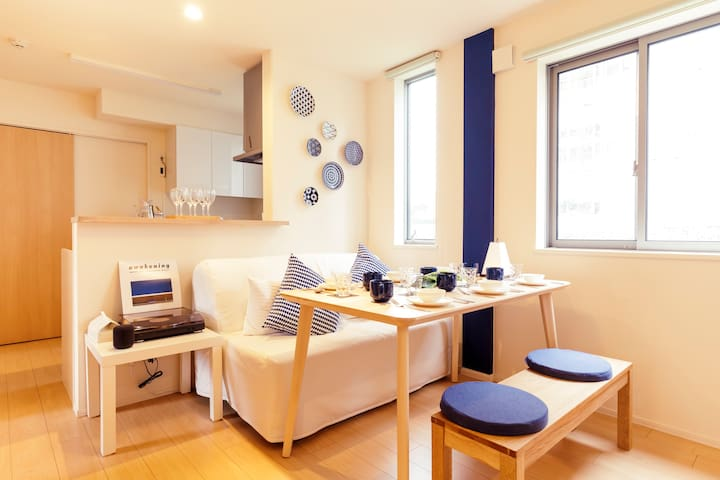 Modern family apt. Just 2 min from Takadanobaba!