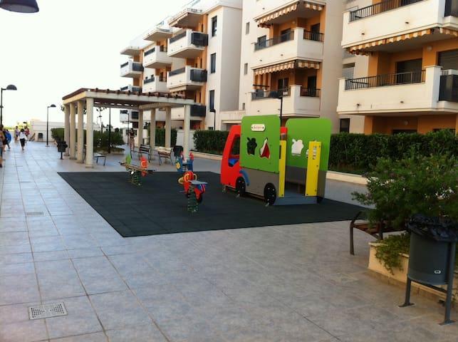 Apartamento en 1ª línea de playa - Casablanca - Lejlighed