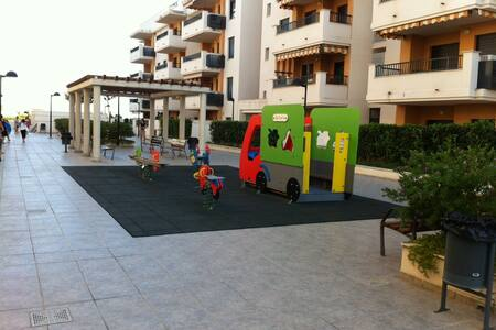 Apartamento en 1ª línea de playa - Casablanca - Apartemen