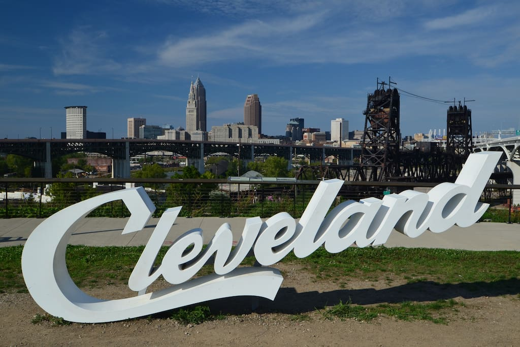 """3 blocks away take your """"I was in Cleveland"""" photo!"""