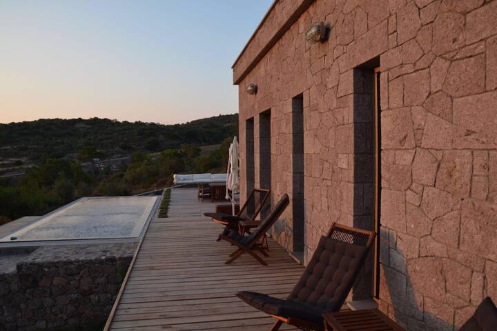 LUXURY STONE HOUSE'S ROOM - Babakale Köyü - Villa