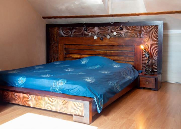 Le charme d'une grande chambre  de 30 M2