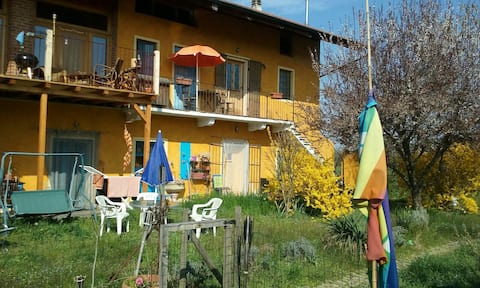 Relax in a farm, t 12 km to Turin