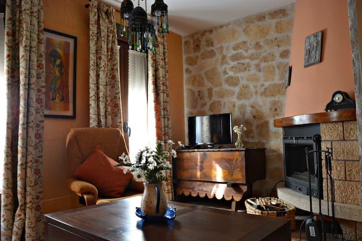 Céntrica y coqueta casa en Brihuega