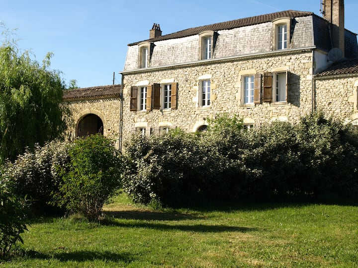 Manoir des Vites,  Exceptional Country House Style