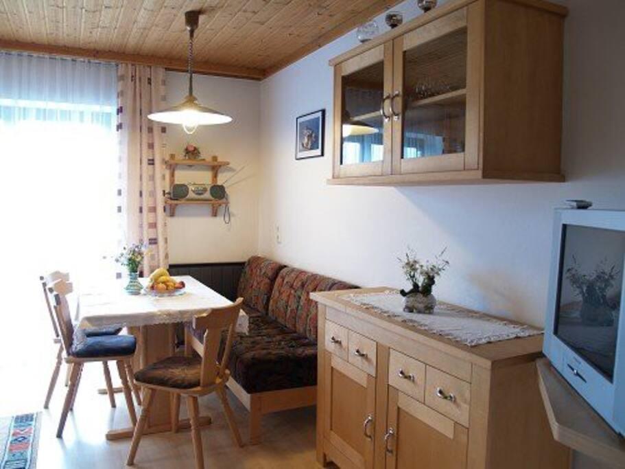 Sitzecke in Wohnküche