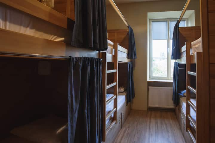 Bed in a Dormitory in a Great Central Location