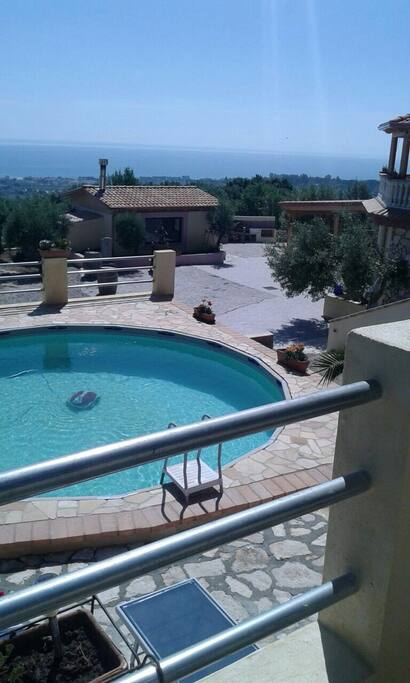 Pool, cucina Rustica, Grill, Meer