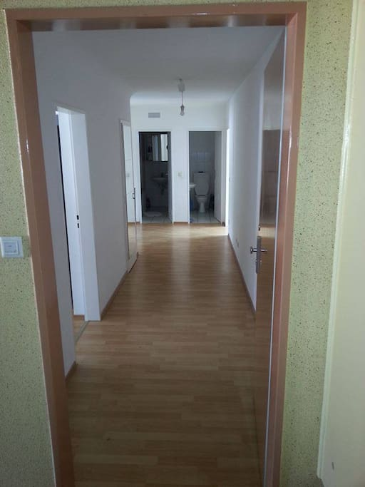 Entrance of the flat(your room on the 1st door left)