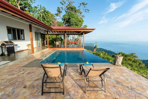 Casa Jardin de Osa 180° Ocean Views