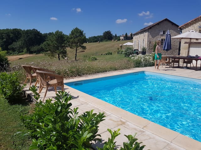 Vacationhouse for 10p in Southern France
