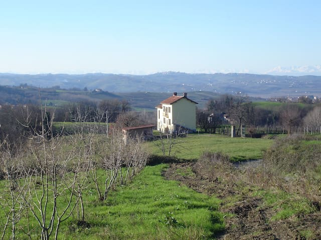 Italian country-side house