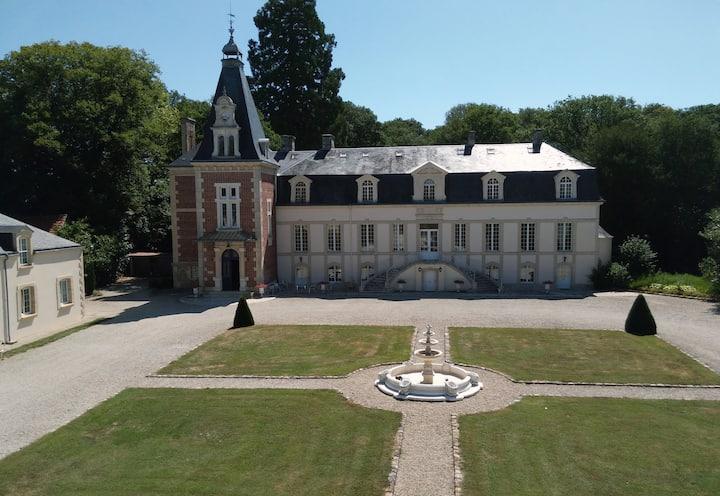 Un hôte au Château