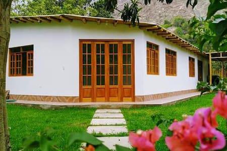 Casa de Campo Belén en Lunahuaná - Perú