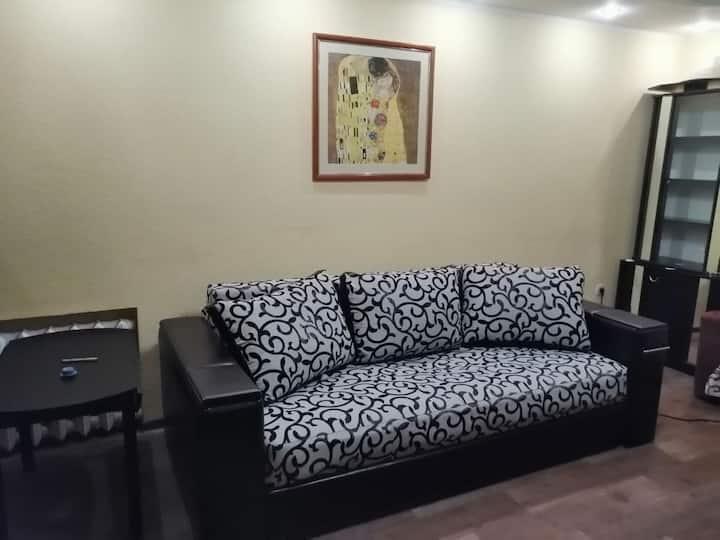 Уютная квартира с дизайнерской планировкой