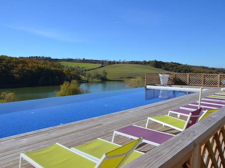 Maison de vacances 8 personnes / piscine chauffée