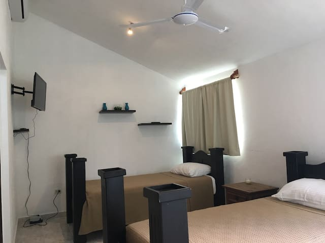 Comfortable Duplex apartment in downtown Cozumel. - San Miguel de Cozumel - Byt