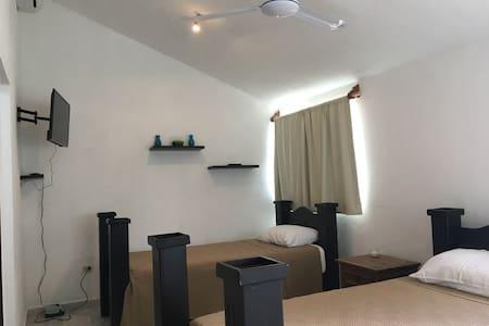 Comfortable Duplex apartment in downtown Cozumel. - San Miguel de Cozumel - Apartemen