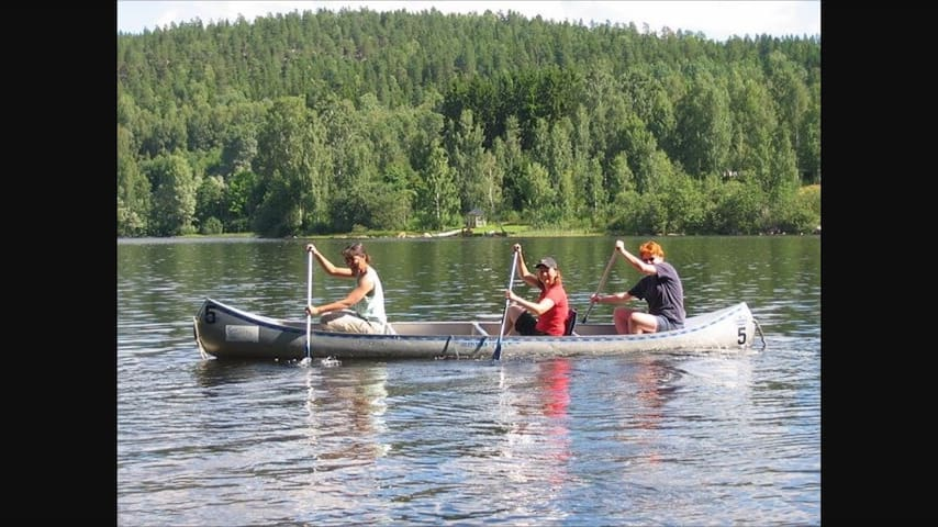 Leje af kano/ rent a canoe.. - Arnakke - Båd
