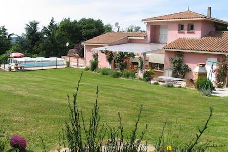 Villa de charme avec piscine - Mazamet